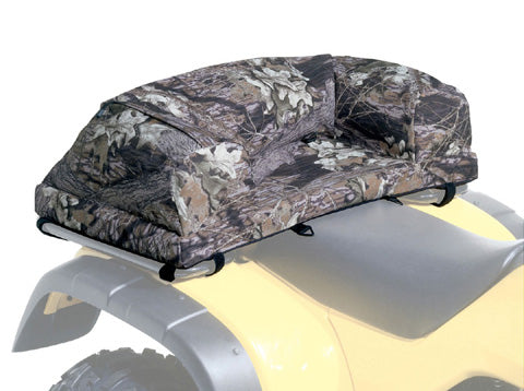 ATV LOGIC 966401 Deluxe Padded Seat Rack Bag, Mossy Oak