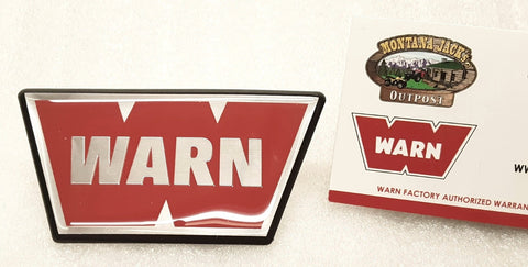 WARN 98398 Emblem for XD9000i Solenoid Housing
