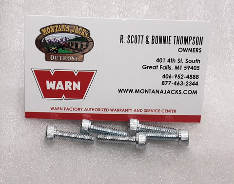 WARN 98487 Cap Screws, Socket Head, 10-24 x 3/4, for 9.5ti, 9.5cti Winch, 5 Pack