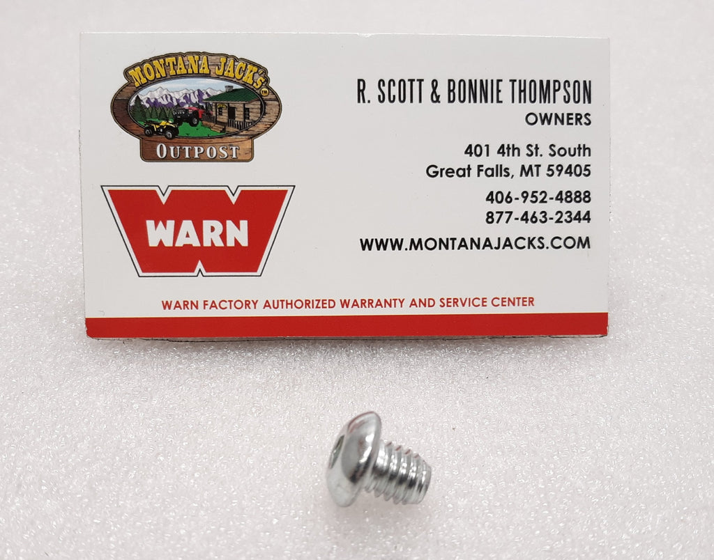 "WARN 98497 Button Head Cap Screw 5/16-18 x 3/8"" for 16.5ti"