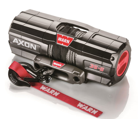 WARN 101130 AXON 35-S Synthetic ATV/UTV Winch