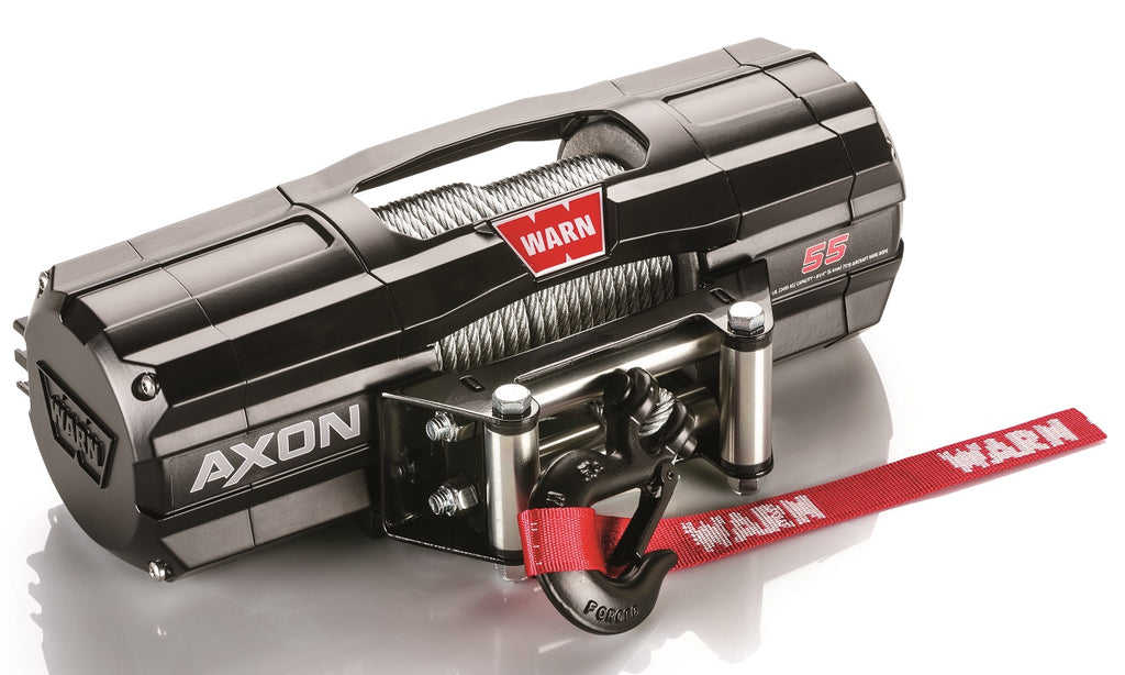 WARN 101150 AXON 55-S Synthetic UTV Winch