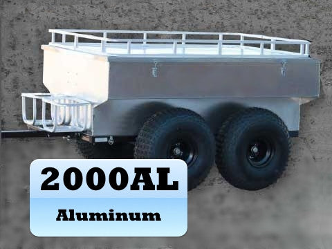 2000 Lb. Aluminum ATV Trailer Part No. 2000AL