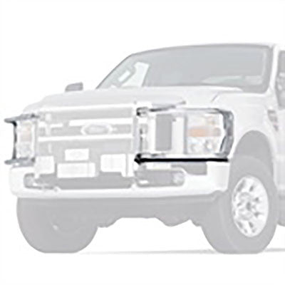 Warn Transformer Brush Guard for FORD, Silver
