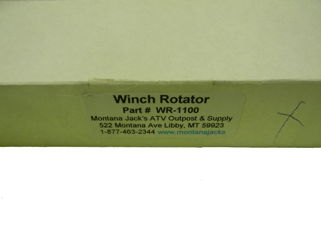 Montana Jacks Winch Rotator, 1 1/4 inch ATV - PN WR-1100