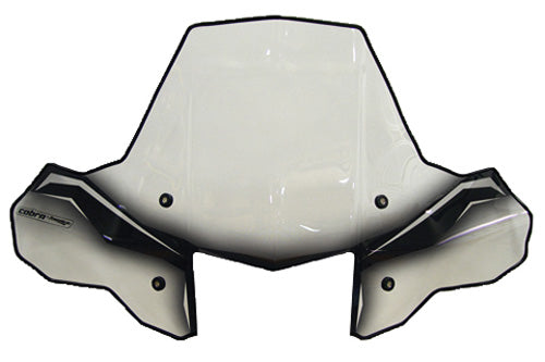 POWERMADD 24572  Cobra ProTEK ATV Windshield w/quick release mount
