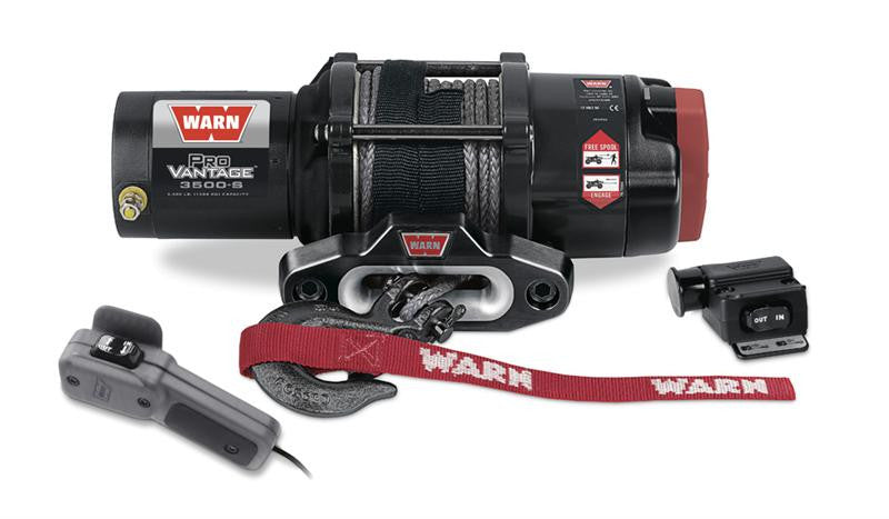WARN ProVantage 3500S Winch With Synthetic Rope