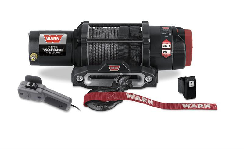 WARN 90451 ProVantage 4500S Winch w/Synthetic Rope