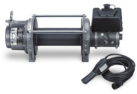 WARN 30283 Series 9 DC Industrial Winch 9000 lb