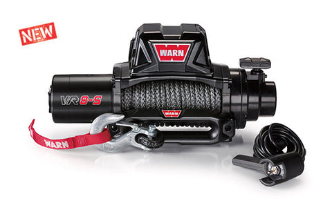 WARN 96805 VR8-S GEN II 8,000 lb. Truck Winch, Synthetic Rope Lifetime Warranty!