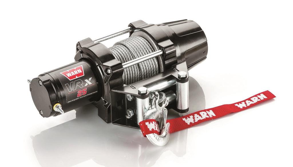 WARN 101020 VRX 25-S Synthetic ATV Winch