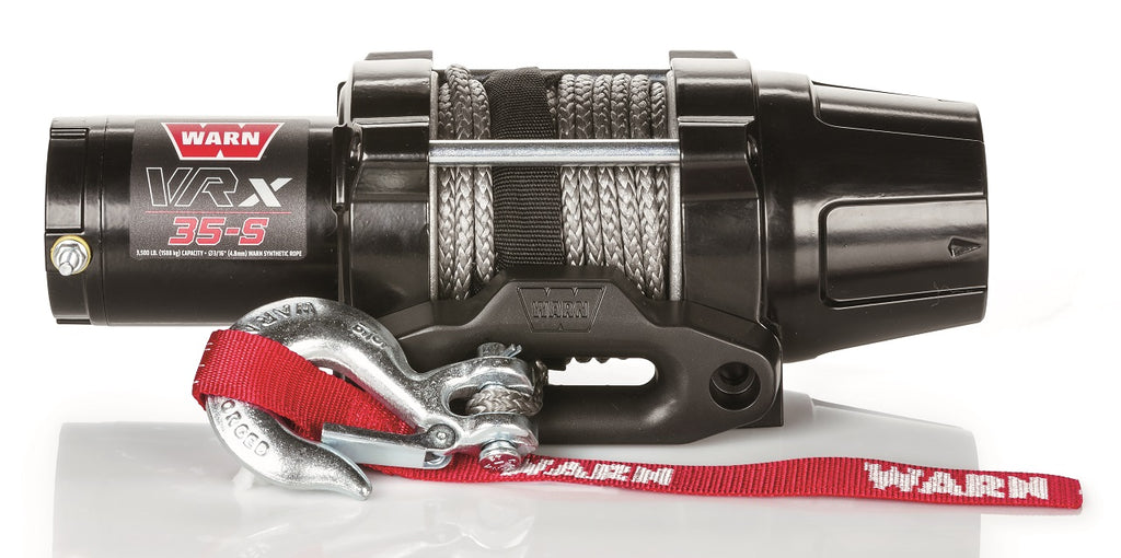 WARN 101030 VRX 35-S Synthetic ATV Winch