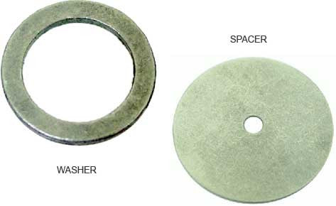 Warn washer and spacer kit