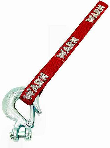 WARN 69329 Winch Hook with Strap, 1/4'' inch