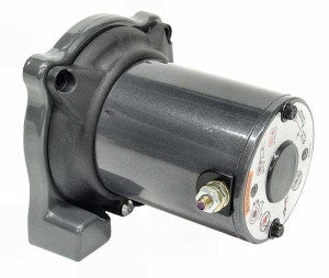 winch motor with end housing