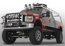 Warn Light Bar Kit Black - 80143