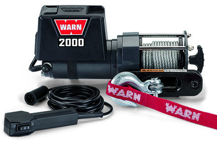 WARN 92000 - Utility Winch 2000 DC