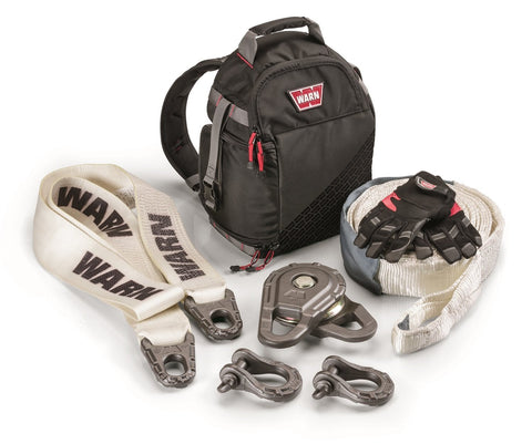 WARN 97570 Epic Large Winching Accessory Recovery Kit