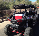 RZR Aluminum Spare Tire Carrier for XP1000, 2014 & up