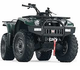 WARN 62319 Yamaha Grizzly ATV Bumper