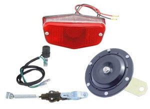 ATV Street Kit & Lighted License Bundle