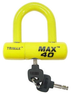 TriMax Disc & Cable U-Lock