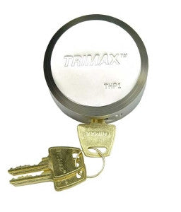 "TRIMAX THP1 Stainless Steel Shackleless Sheilded Padlock, 3/8"" locking Pin"