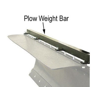"MONTANA JACKS Plow Weight Bars - 48"" 54"" and 60"""
