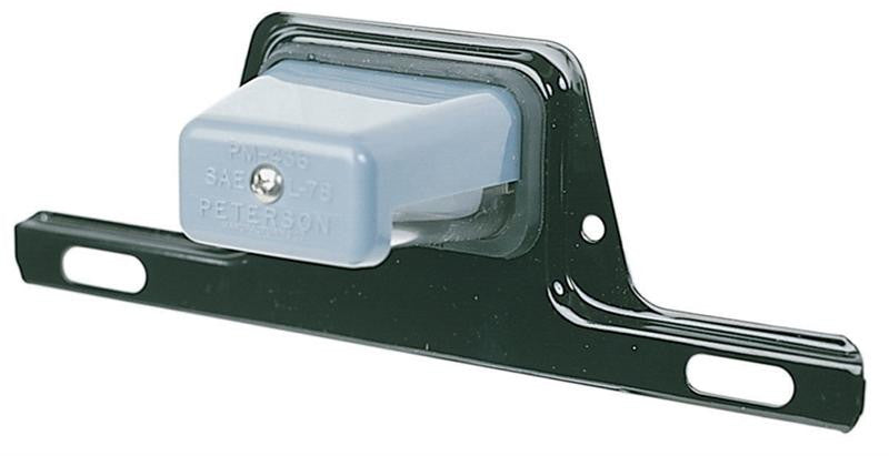 PETERSON Licence Bracket with Light