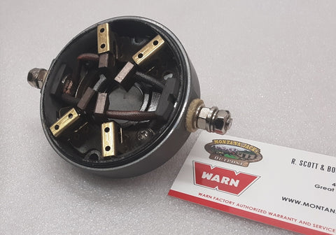 USED WARN Vantage 4000 Motor End Cap/Brush assy.
