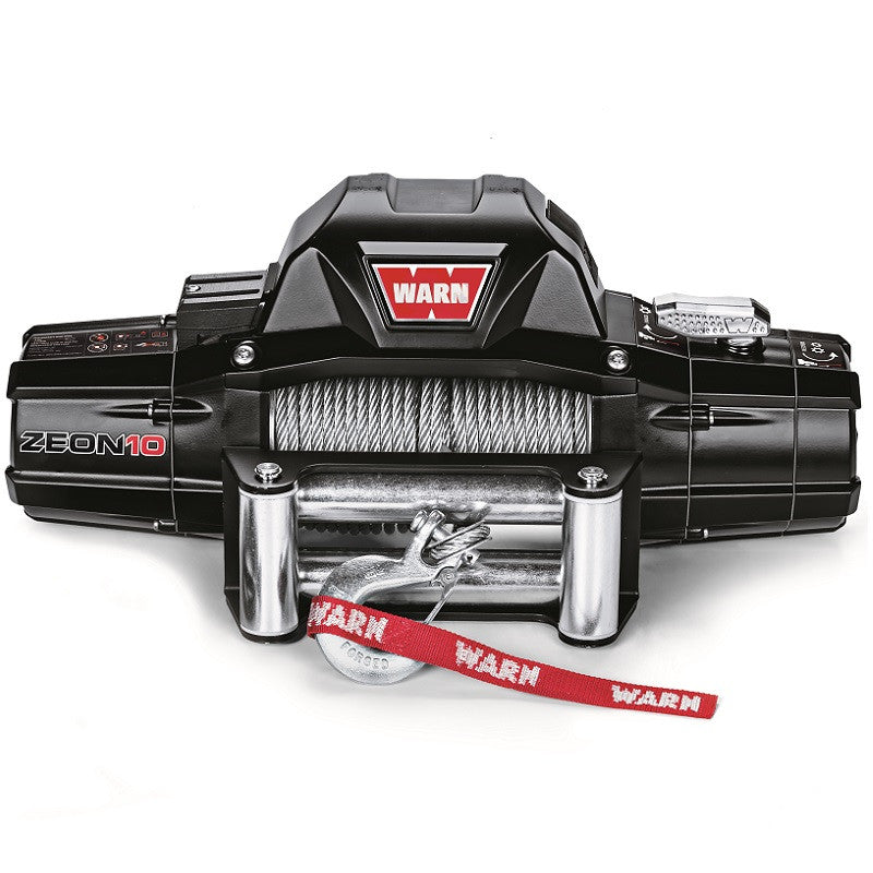 WARN 88990 Zeon 10 Truck Winch, Steel Wire Rope