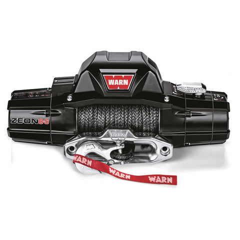 WARN 89305 Zeon 8-S Truck Winch, Spydura synthetic rope, Lifetime Warranty!