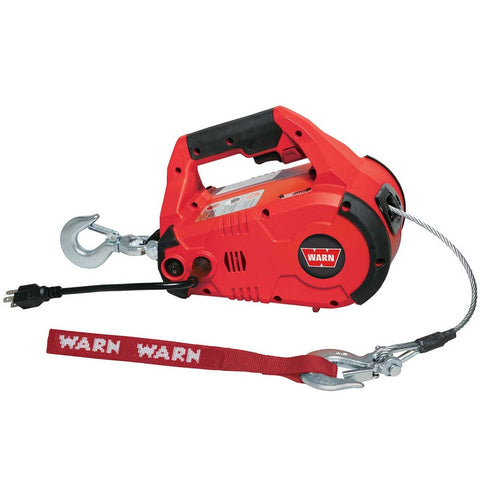 WARN 885000 Corded PullzAll Portable Winch
