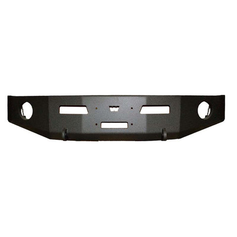 WARN Dodge Ram Black Bumper Without Grill and Brush guard 2011-2012