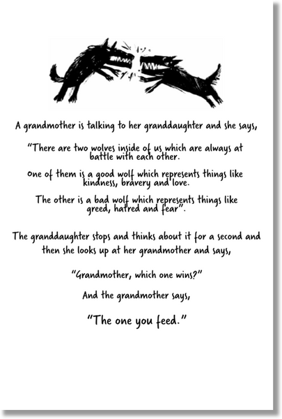 TOYF Parable Poster - Grandmother to Granddaughter