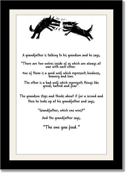 TOYF Parable Poster - Grandfather to Grandson