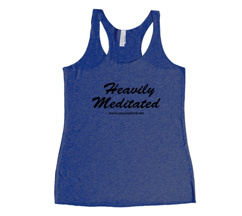 TOYF Heavily Meditated Racerback Tank