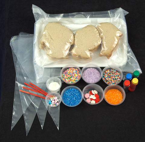 What's included in the Cookie Decorating Kit