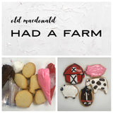 Old MacDonald has a Farm Deluxe Cookies To Decorate Kit