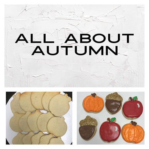All About Autumn Deluxe Cookies To Decorate Kit