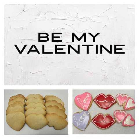 Be My Valentine Deluxe Cookies To Decorate Kit