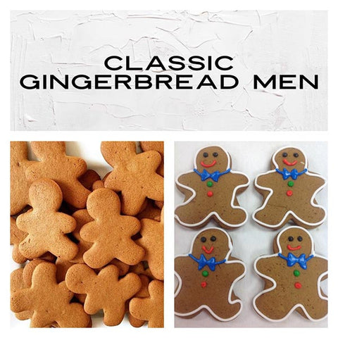 Classic Gingerbread Men Deluxe Cookies To Decorate Kit