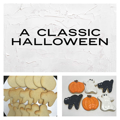 A Classic Halloween Deluxe Cookies To Decorate Kit