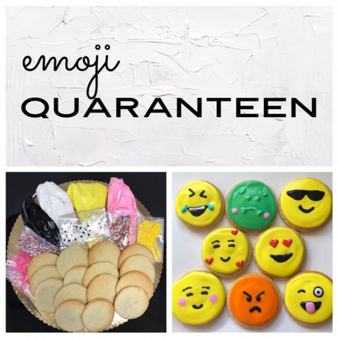 Emoji Quaranteen Deluxe Cookies To Decorate Kit