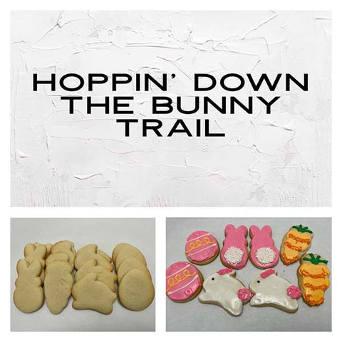 Hoppin' Down the Bunny Trail Deluxe Cookies To Decorate Kit