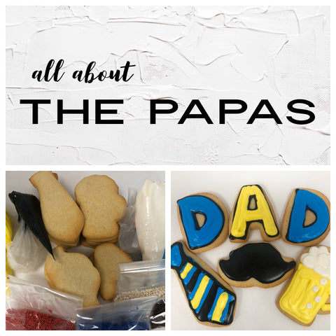 All About the Papas Deluxe Cookies To Decorate Kit