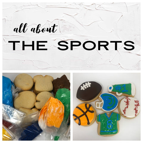 All About the Sports Deluxe Cookies To Decorate Kit