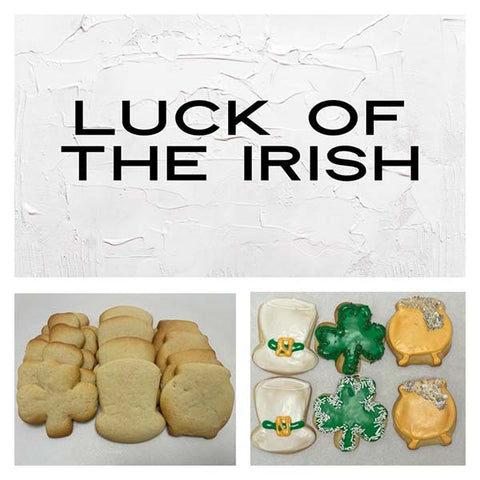Luck of the Irish Deluxe Cookies To Decorate Kit