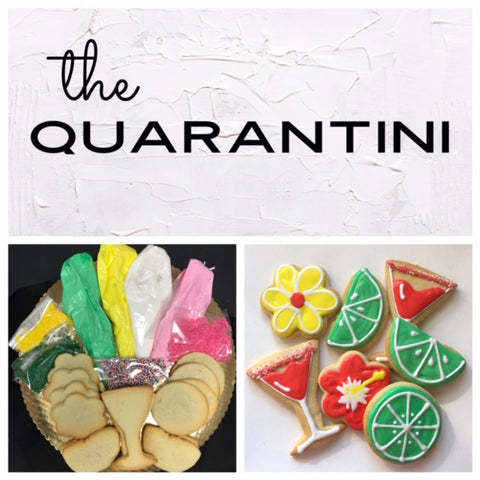 The Quarantini Deluxe Cookies To Decorate Kit