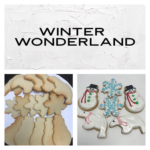 Winter Wonderland Deluxe Cookies To Decorate Kit